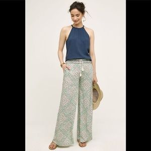 Elevenses Anthropologie medium Pants Wide Leg